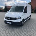 VW Crafter wynajem busa transportowego