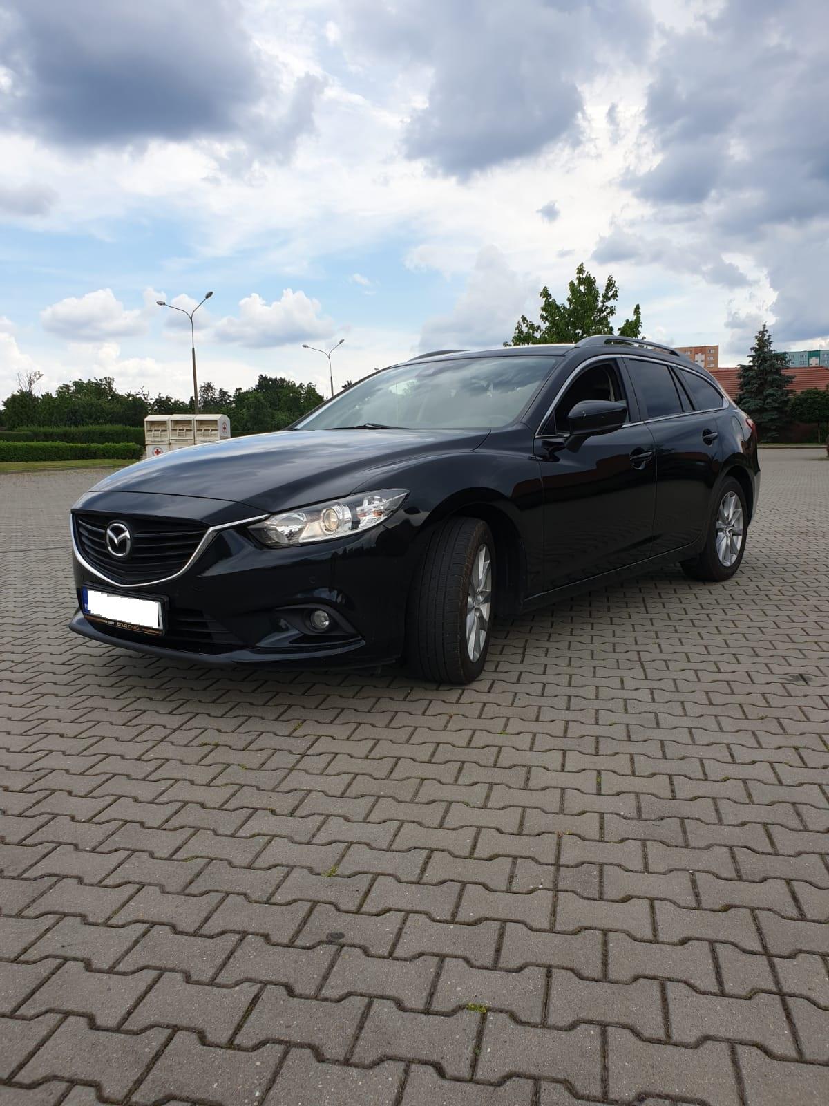 Mazda 6 wynajem Gold Cars